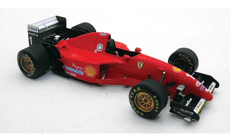 1:43 Fujimi ferrari 412 t2 testcar schumacher 1995