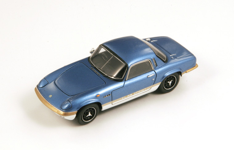 1/43 1971 Lotus Elan S4 Sprint Fhc Coupe Met Blue