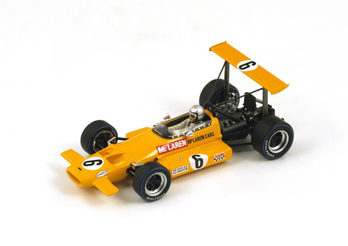 1/43 1969 McLaren M7B #6 5th South African GP Bruce McLaren