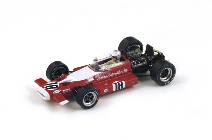 1/43 1969 McLaren M7B #18 Dutch GP Vic Elford