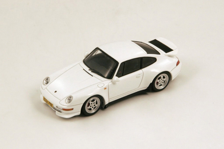 1/43 1995 Porsche 993 Carrera RS Coupe White