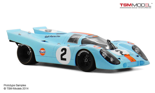 1/12 1970 Porsche 917K #2 Gulf / J.W. Engineering Daytona 24Hr. Winner Limited 300 Pieces
