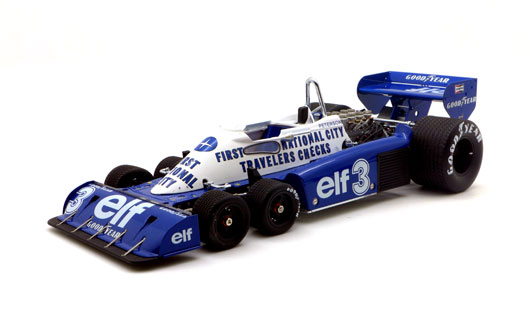 1/18 1977 Tyrrell P34 #3 Belgian GP 3rd Place R. Peterson Limited 1500 Pieces