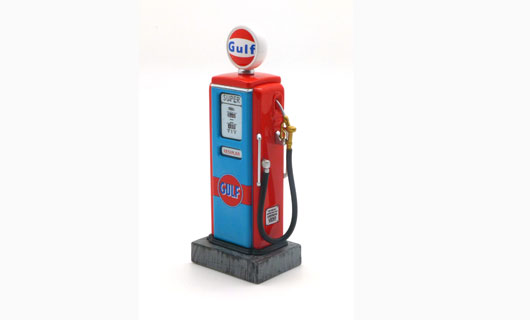 1/18 Retro Fuel Pump - Gulf Type II