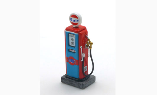 1/43 Retro Fuel Pump - Gulf Type II
